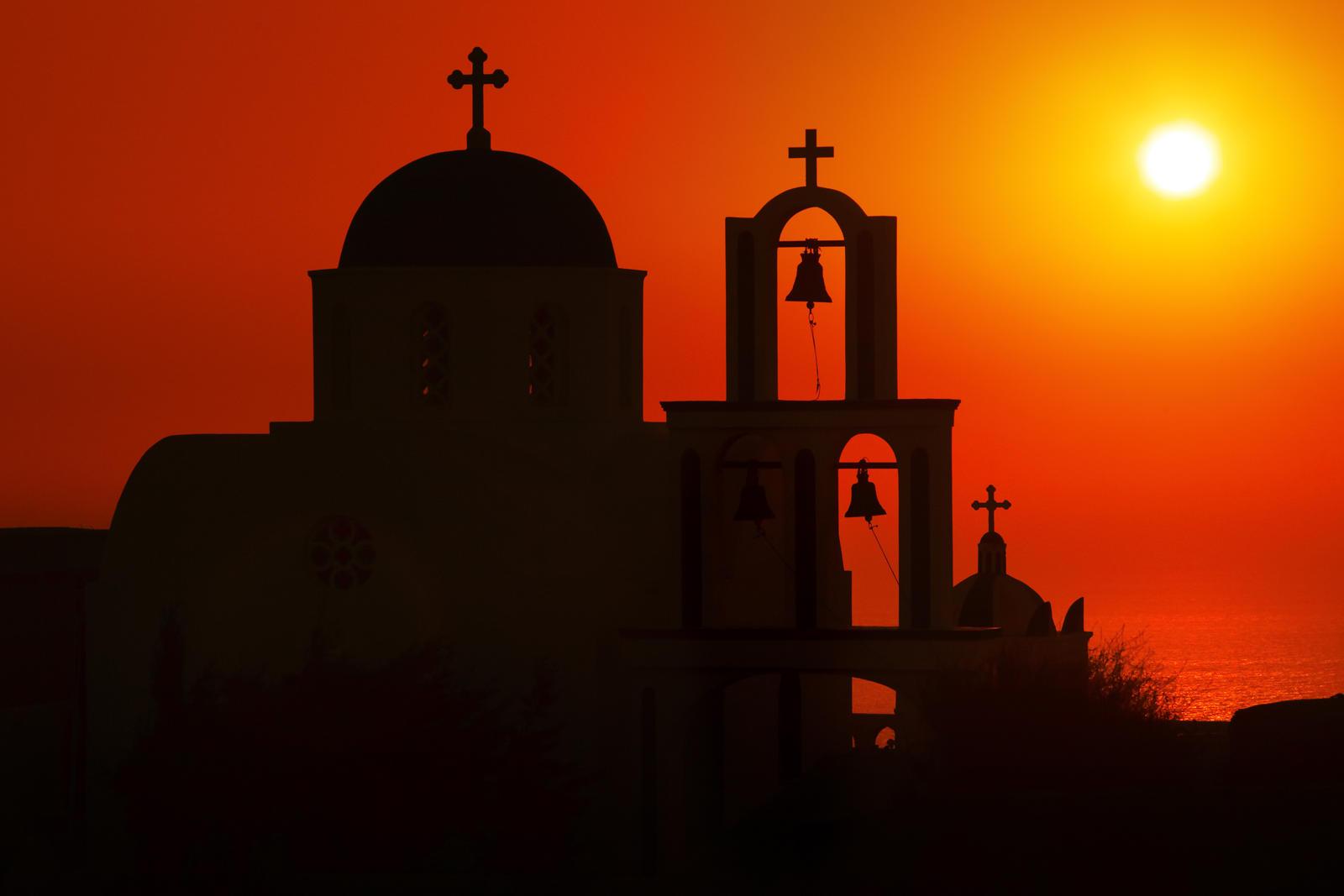 Greece sunrise by AlexGutkin