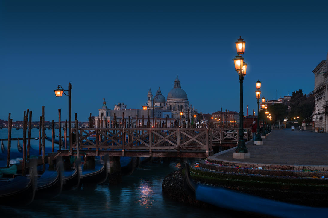 Venice night by AlexGutkin