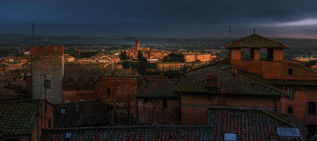 Siena evening by AlexGutkin