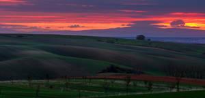 Moravian Sunrise