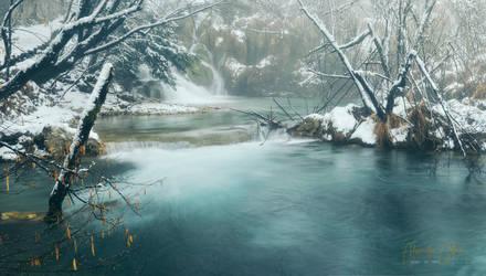Plitvice lakes by AlexGutkin