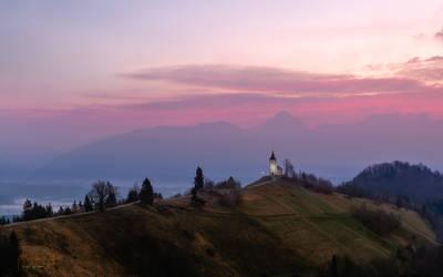 Church St. Primoza in Felicijana by AlexGutkin