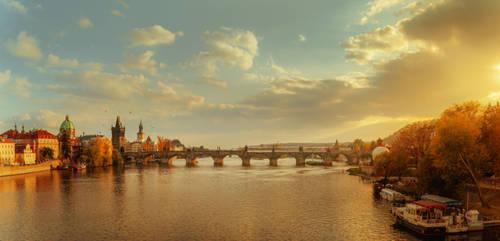 Golden ray of sunshine by AlexGutkin