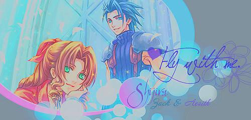 Firma  Zack y Aerith by ShijiraLuna