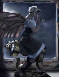 Steampunk Faerie by Tygerson