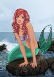 The little mermaid by B-Jony