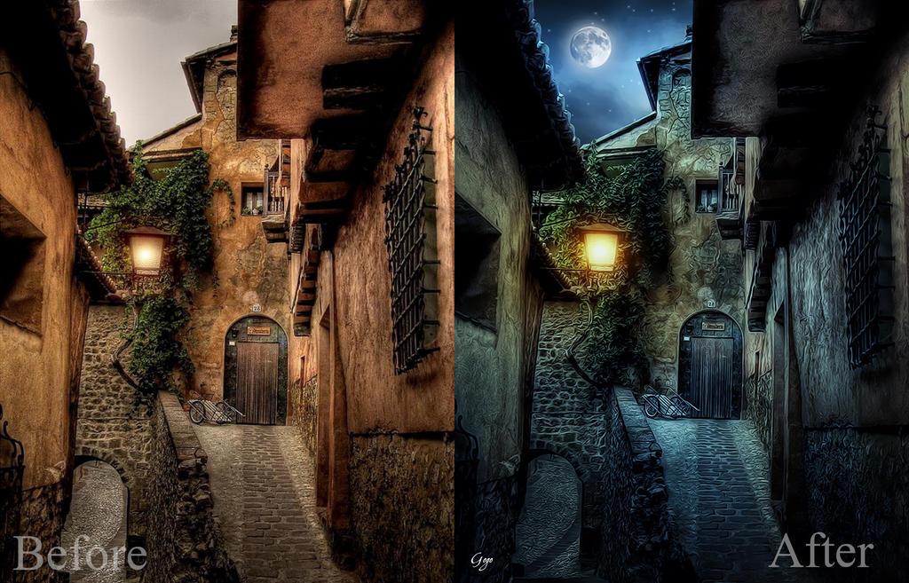 Italian night by GogoZh