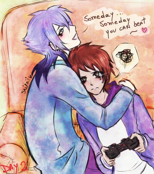 30 days OTP challenge - Morby - Cuddling somewhere by KiraiRei