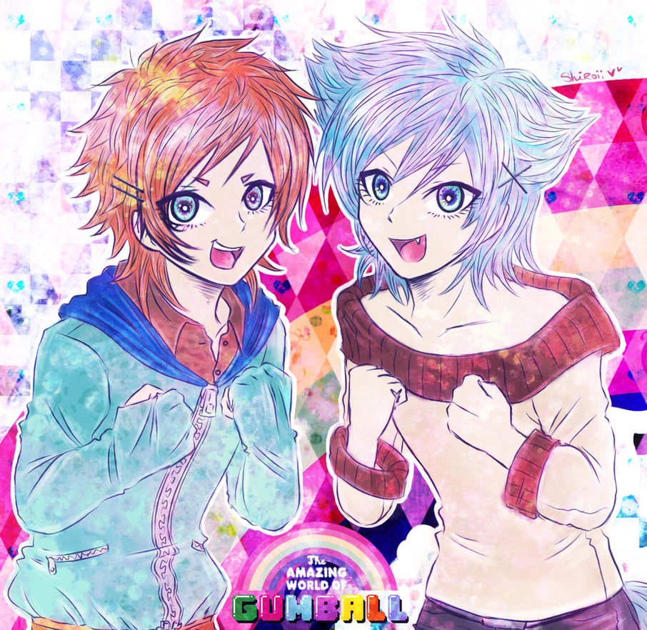 Anime Word: The Amazing World Of Gumball- By