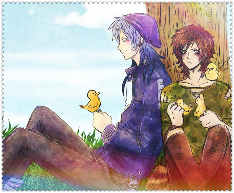 Baby Ducks - Regular Show - by KiraiRei