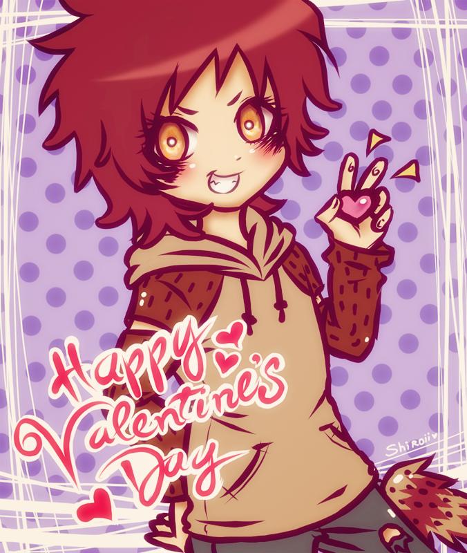 Happy Valentine's Day - Rigby - by KiraiRei