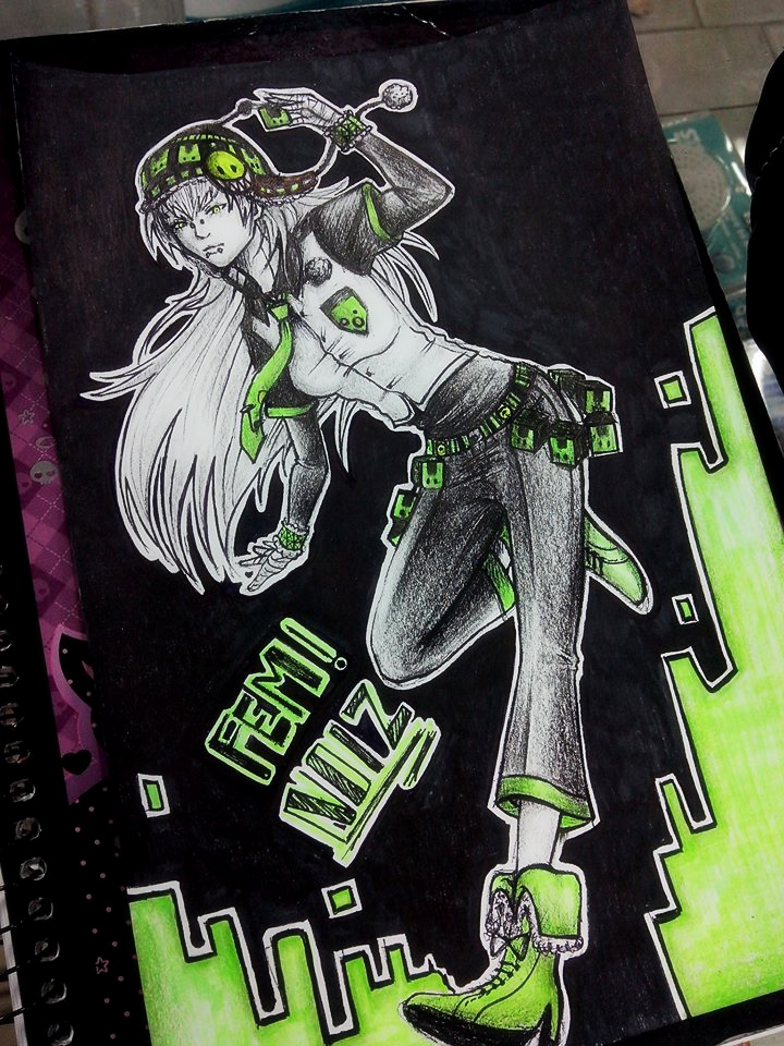 Fem! Noiz - DRAMAtical Murder - by KiraiRei