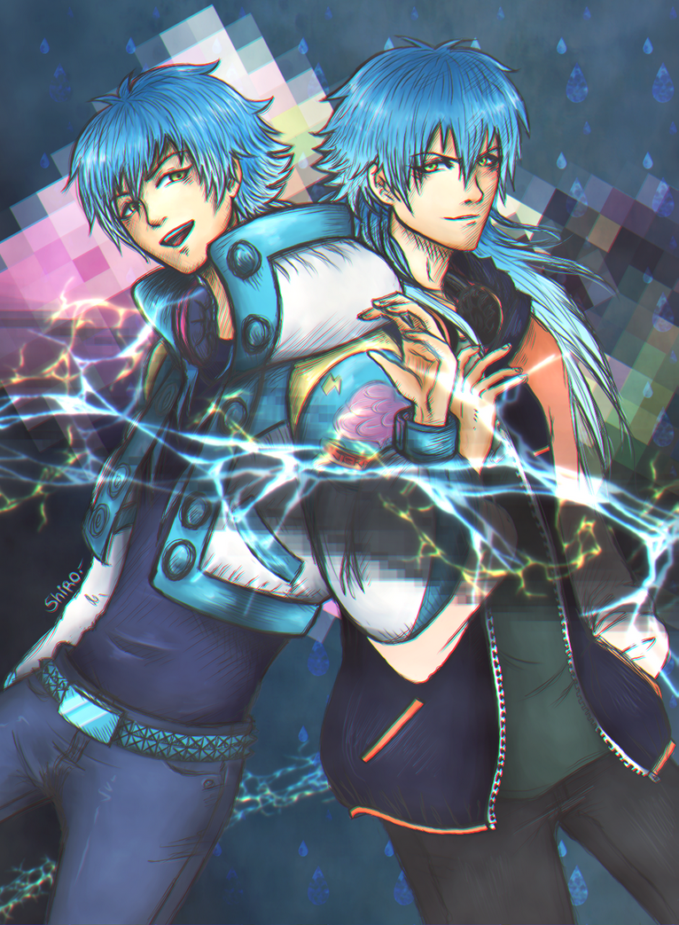 Searing Mind Blue - Aoba and Sly - DMmd - by KiraiRei