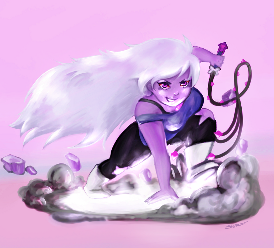 Amethyst is love, amethyst IS LIFEEEEEEEEEEEEEEEEE. www.youtube.com/watch?v=zTDeOP… And and and  i love Garnet ;W ; <3 SHIT, STEVEN UNIVERSE IS AAAAAAAAAAAAAAAAAALL -die-  _____...
