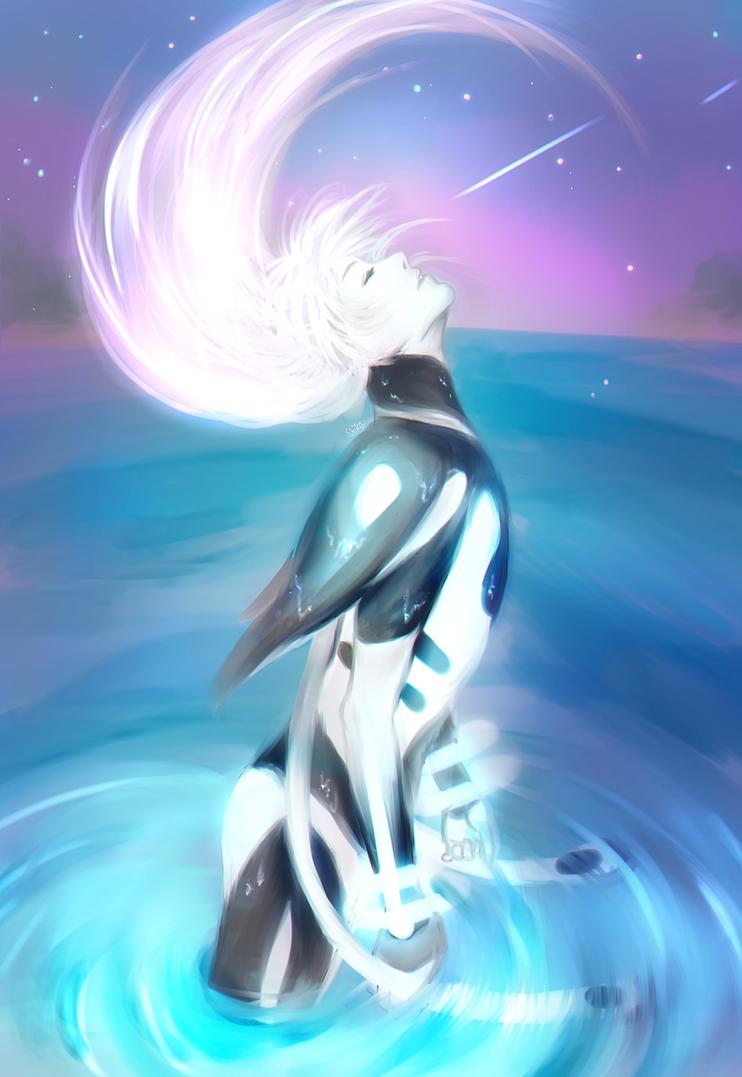 True form - DRAMAtical Murder - by KiraiRei