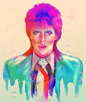 David Bowie - Tribute - by KiraiRei