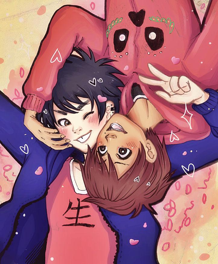 Selfie - Hiro and Miguel -