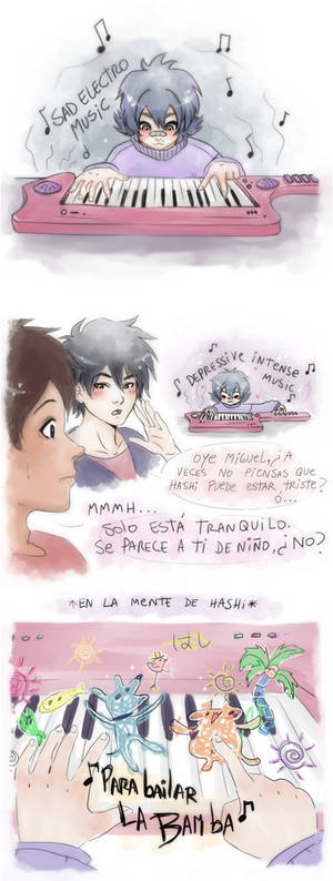 Hiro, Miguel and Hashi - BH6 x COCO -