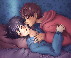 Time to Sleep - Hiro and Miguel -