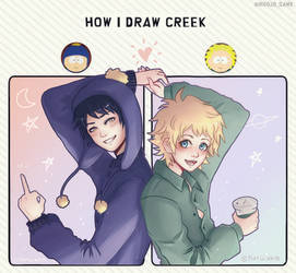 How i Draw Creek - Meme South Park -