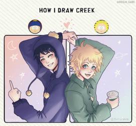 How i Draw Creek - Meme South Park -