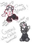 Gerard Way Chibis continued
