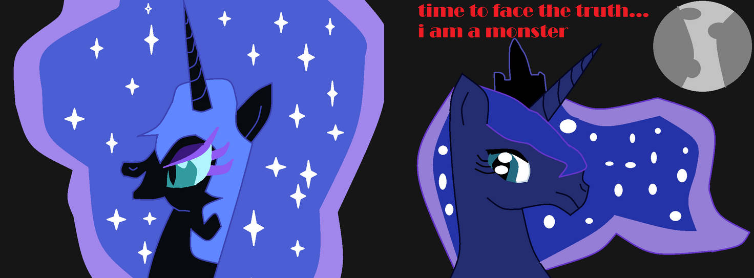 Luna and nightmare moon