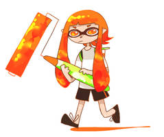 Splatoon by aviatorsprite