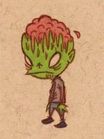 Zombie Brains by sketchxj