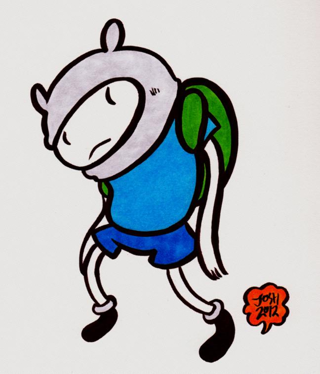 Finn by sketchxj