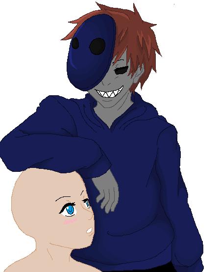 eyeless jack x oc base by PsychoHichi815 on DeviantArt Anime Female Base With Hoodie