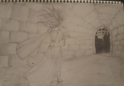 Magical Defender Sketch