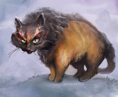 Mean snow-cat-fox