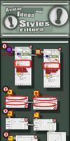 Photoshop CS3 Styles Avitar