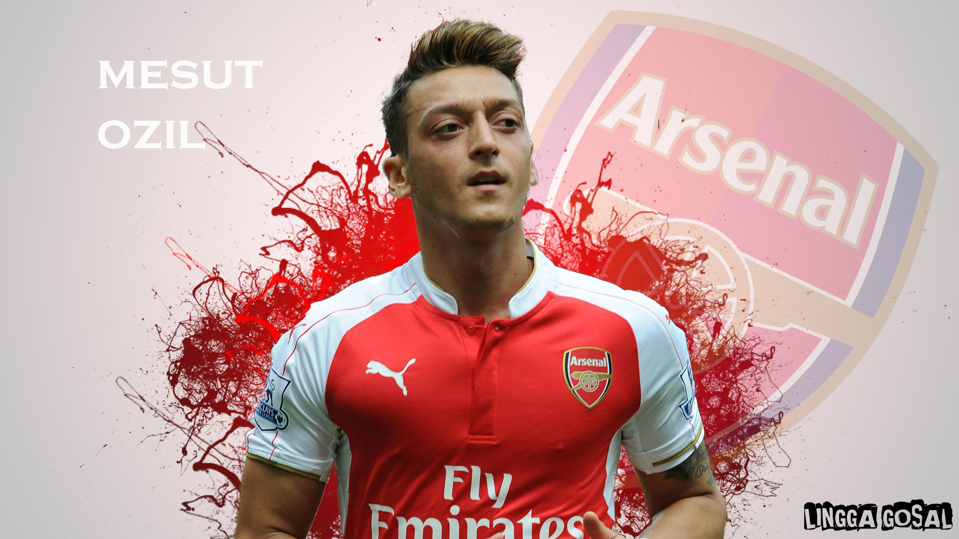 mesut ozil 2016 hd wallpaper by linggagosal6661 on deviantart