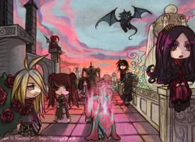 Heyoga: The vampires walk by Nacrym