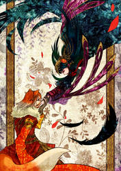 Fabulous : The Crow who fell for the Fox by Nacrym