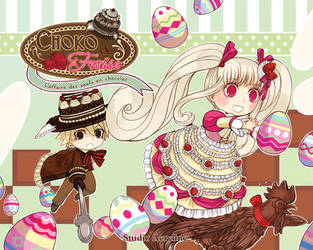 Choko-Fraise : L'affaire des oeufs en chocolat by Nacrym