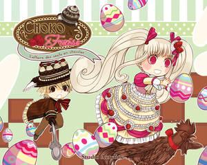 Choko-Fraise : L'affaire des oeufs en chocolat