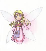 Zelda: Chibi Fairy Zelda by Nacrym