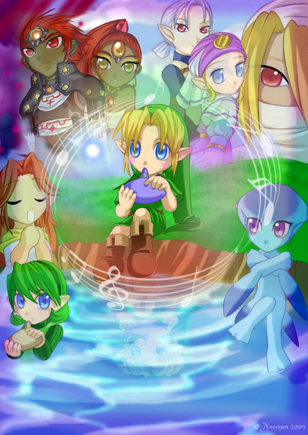 ... euh j'peux la mettre là la Zelda__Hyrule_Symphony_by_Nacrym
