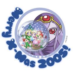 Zelda: Merry Christmas by Nacrym