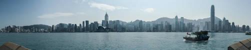 Hong Kong Panorama by amipal