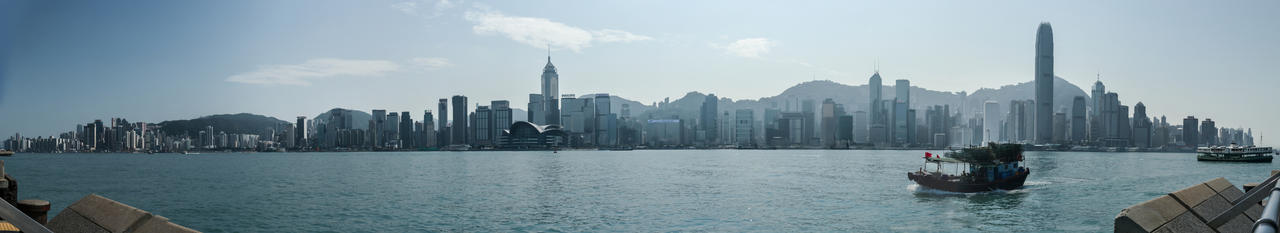 Hong Kong Panorama by amipal