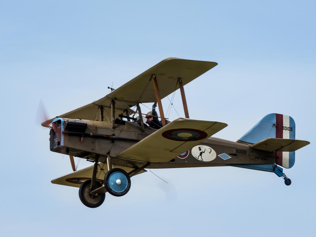 Royal Aircraft Factory S E 5a By Amipal On Deviantart