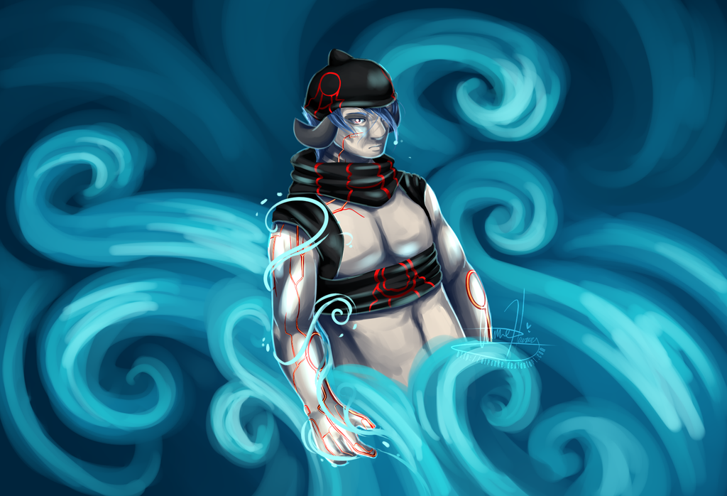 Patron of Kyogre by Airanke