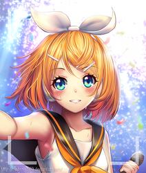 Vocaloid: Selfie Rin by ThaiChau