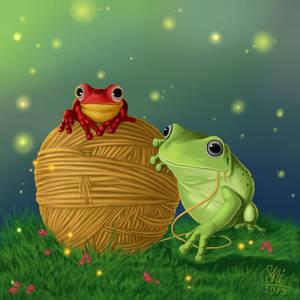 Magic frogs