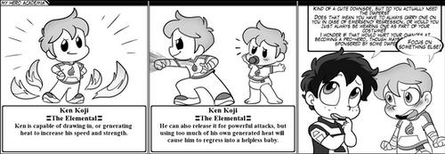 Tyke tales - My Hero Academia #2 by Kenny-TykeTales