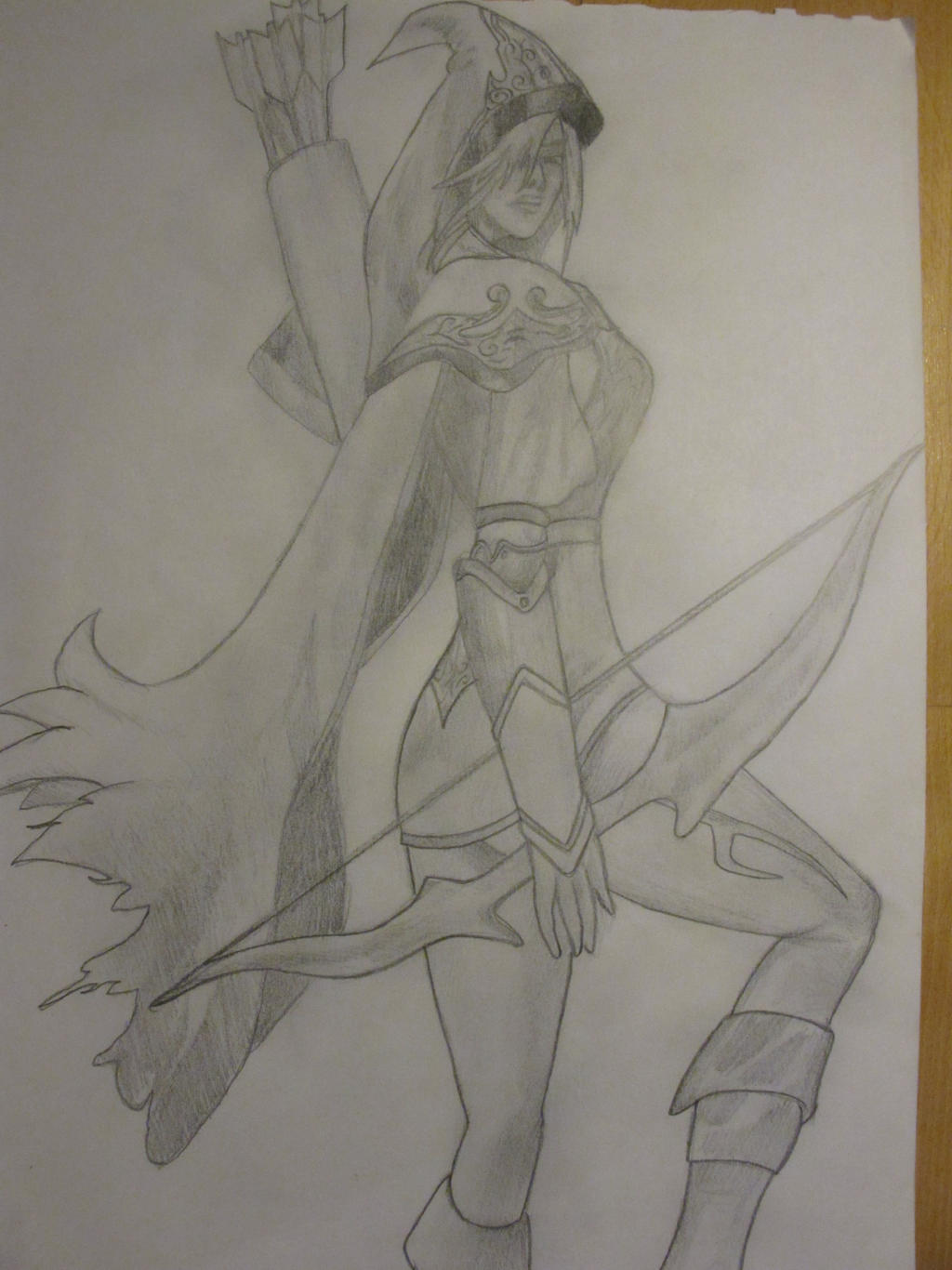League Of Legends Old Ashe Pencil Drawing By Ilommii On Deviantart All the best league of legends sketch 39+ collected on this page. legends old ashe pencil drawing